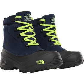 The North Face Chilkat Lace II Bottes Enfant, cosmic blue/lime green